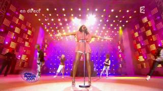 KELLY ROWLAND feat. DAVID GUETTA - When love takes over  (HD) [Live at Fete de la Musique 2009]