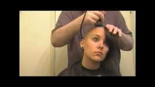 Female Head Shaving Video - A Girl's Head Shave