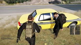 ARMA III Altis Life (Stan Lakeside) - Od taksówkarza do napadu /11.06.16 #11