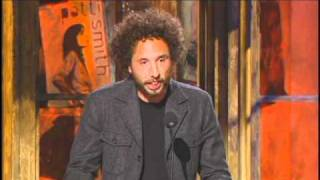 <b>Zack De La Rocha</b> Inducts Patti Smith Rock And Roll Hall Of Fame Inductions 2007