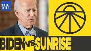 Joe Biden belittles Sunrise Activist, organizer responds on Rising