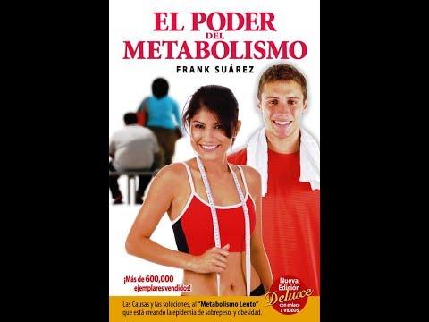 Libro Recetas El poder del Metabolismo de Frank Suárez-Club Trendy