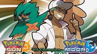 Pokemon Sun & Moon - Champion Battle Music (HQ)