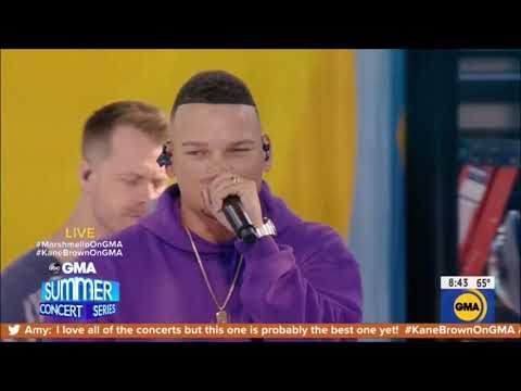 "Kane Brown & Marshmello Performance ""One Thing Right"" Live Concert August 30, 2019 HD 1080p"