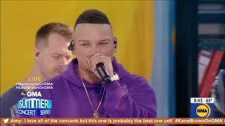 """Kane Brown & Marshmello Performance """"One Thing Right"""" Live Concert August 30, 2019 HD 1080p"""