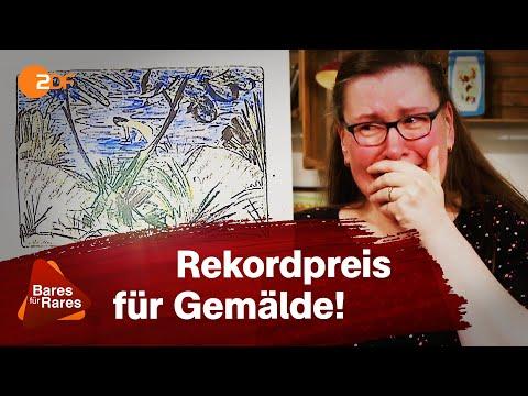Teuerstes Bild aller Zeiten: Freudentränen nach Rekord-Expertise   Bares für Rares
