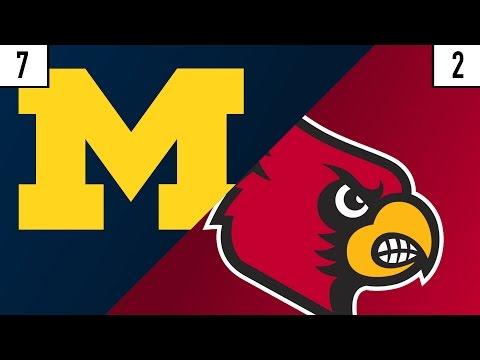 7 Michigan vs. 2 Louisville Prediction | Who's Got Next?