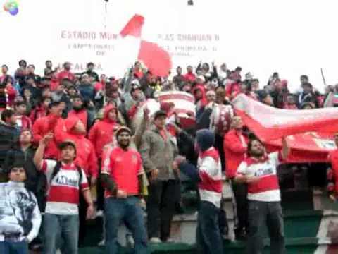 """""""Dale Rojo"""" Barra: La Banda Cementera • Club: Unión La Calera"""