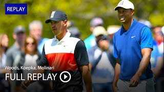 Full Replay | Tiger Woods, Brooks Koepka, Francesco Molinari In First Round At 2019 PGA Championship