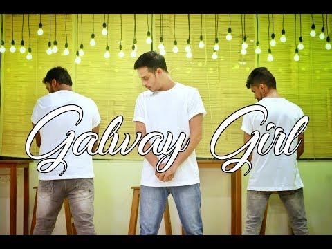 Ed Sheeran - Galway Girl Dance Choreography (видео)