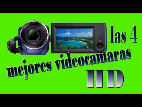 LAS 4 MEJORES VIDEOCAMARAS HD