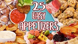 25 Easy Christmas Party Appetizers | Super Entertaining Compilation | Well Done