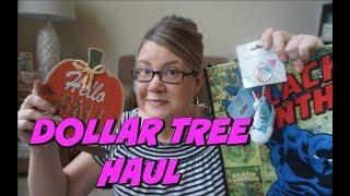 DOLLAR TREE HAUL 8/8/18 | SO MANY NEW ITEMS!