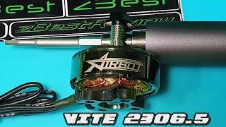 ✅ Моторы Для FPV Дрона - Airbot VITE 2306.5 1800KV 5-6S + Тест на Стенде! ⚡????