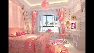 Kids Bedroom With Pink Color Interior 60 Design | 2019 | Bedroom Design Series - Episode 23