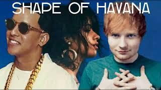 Ed Sheeran & Camila Cabello - Shape Of Havana (Mashup) [Ft. Daddy Yankee]