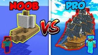 Minecraft NOOB vs. PRO: PIRATE SHIP in Minecraft!