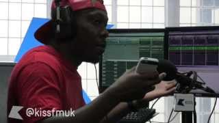 Dizzee Rascal Goin' Crazy at Kiss FM (UK)