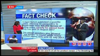 Fact Check: Waiver on maize importation