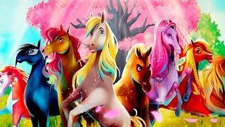Приключения Волшебных Лошадок/Хранители Вечноцветущего Леса.Легендарные Гонки Лошадей.Мультик Игра
