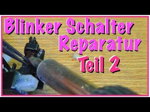 Blinker Schalter Reparatur - Zweiter Versuch