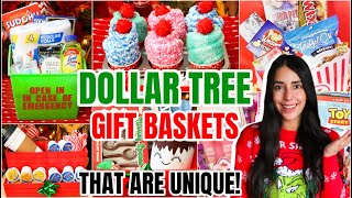 DOLLAR TREE GIFT BASKETS * IMPRESS YOUR FRIENDS