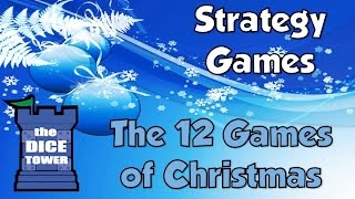 12 Games of Christmas of 2015 - Strategy Games