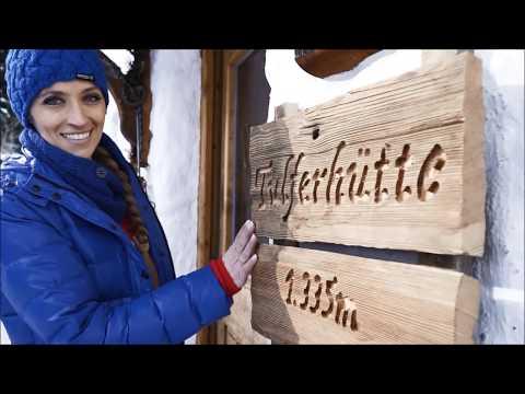 Skifahren im Skigebiet am Glungezer