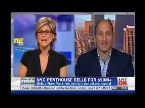 CNN calls on the 'top NYC real estate lawyer' Adam Leitman Bailey to discuss the sale of a $90 million penthouse in New York City testimonial video thumbnail