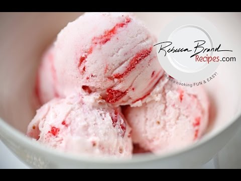 Video Old Fashioned Strawberry Ice Cream Recipe