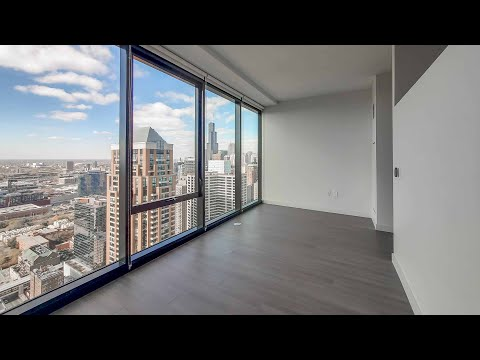 An -04 junior one-bedroom at the South Loop's iconic new NEMA
