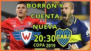 WILSTERMANN VS BOCA JUNIORS LA PREVIA, DATOS, HISTORIA/ COPA LIBERTADORES 2019