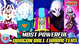 Top 10 Most Powerful Dragon Ball Characters | Explained in Hindi | Dragon ball India