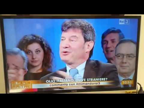 Mi Manda Rai Tre - Lo scontro sulla depenalizzazione sull'olio d'oliva sbarca in televisione