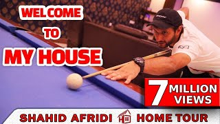 Shahid Afridi Home Tour   Exclusive Video