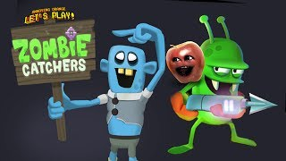 Midget Apple Plays   Zombie Catchers
