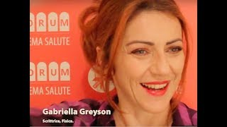 Forum Sistema Salute 2018 – intervista a Gabriella Greison (Firenze, Stazione Leopolda)