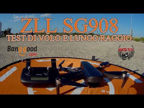 ZLL SG908 TEST DI VOLO  parte 2 UNA BOMBA