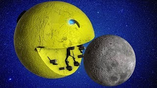 Real Life Pacman 3.  The walk to the Moon