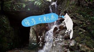 寝落ち動画 滝編~金仙滝~