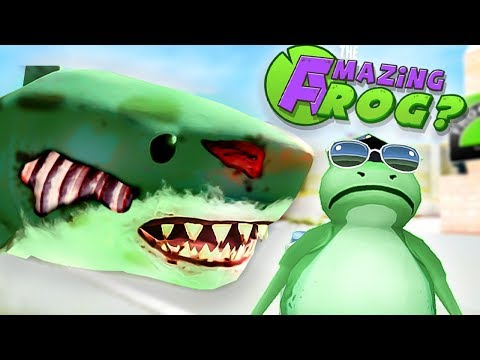 CAN YOU MAKE A ZOMBIE MEGALODON? - Amazing Frog Gameplay (New Amazing Frog Update)