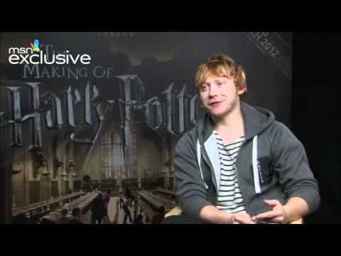 Rupert Grint talks about starring in Ed Sheeran's video for Lego House
