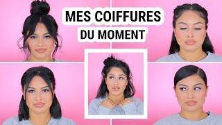 MES COIFFURES PENDANT LE CONFINEMENT !!