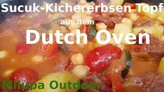 """""""Sucuk Kichererbsen Topf"""" aus dem Dutch Oven, herzhaftes Rezept für die ganze Familie....."""
