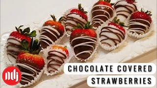 best way to melt chocolate chips for chocolate covered strawberries