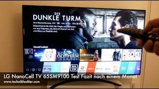 LG NanoCell TV 65SM9010 Test Fazit nach einem Monat