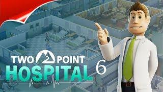 Two Point Hospital 6 КАК ВСЕГДА,МНОГО БОЛЬНЫХ И ХАУС В БОЛЬНИЦЫ