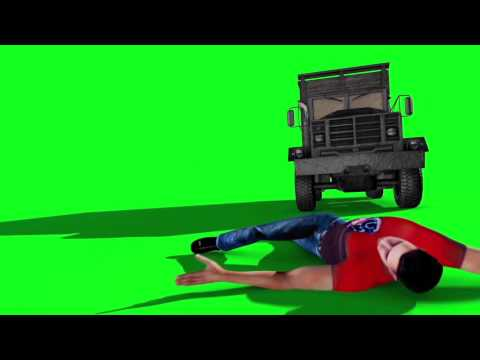 Green Screen Action Movie Accident HD - Footage PixelBoom CG