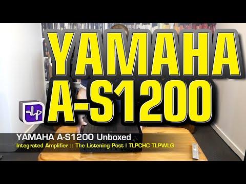 External Review Video -e3JpWW3uHA for Yamaha A-S1200 Integrated Amplifier