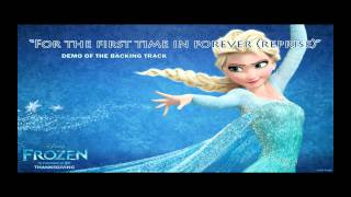 For the first time in forever reprise Karaoke instrumental backing track